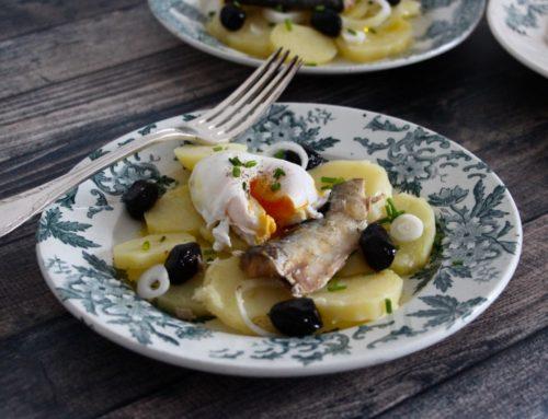 La Salade de Pommes de Terre et Sardine