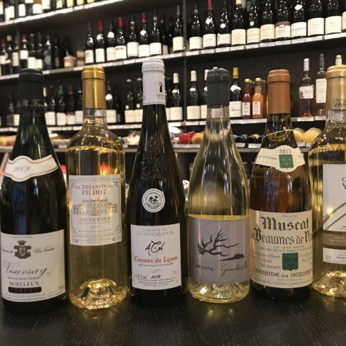 Vins sucrés (vins doux, moelleux, liquoreux)
